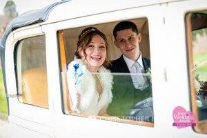 Wedding car in Kent